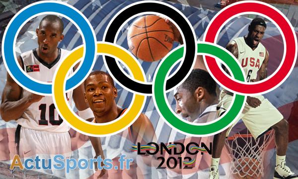 Jo londres 2012: basketball avec des stars de nba