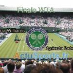 Finale WTA Wimbledon 2012 Serena Williams vs. Agnieszka Radwanska