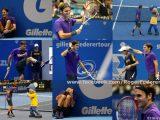 Federer a fait le show au Brésil