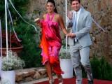 Lionel Messi Antonella Roccuzzo en tenue de soirée