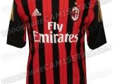 Les nouveaux maillots du Milan AC