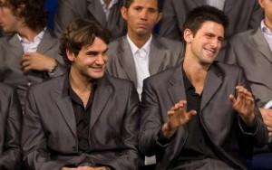 Roger et Novak