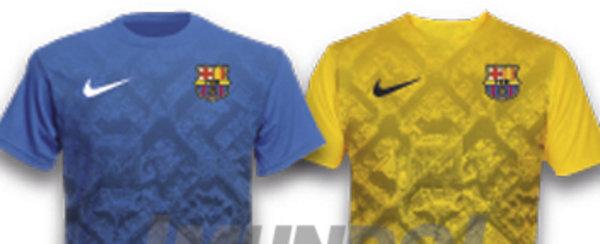 Maillot entrainement FC Barcelona nouvelle