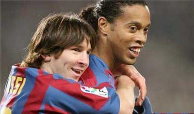 Ronnie fan de Messi