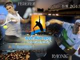 Open d'Australie 2013 Federer vs. Raonic