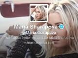 Sharapova twitter
