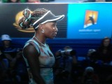 Venus Williams ne comprend pas la joie de Sharapova (photo)