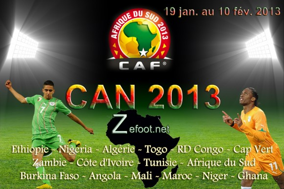 CAN 2013: match Tunisie - Algérie