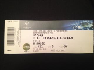 billet barcelone