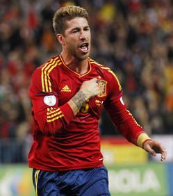 Vidéo but de Sergio Ramos Espagne 1-0 Finlande