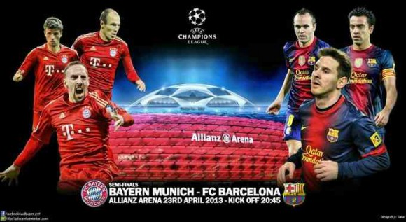 Bayern Munich - FC Barcelone streaming