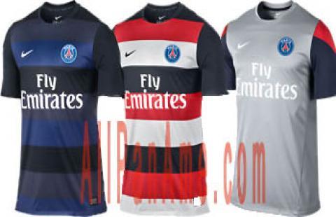 maillots du PSG 2013/2014