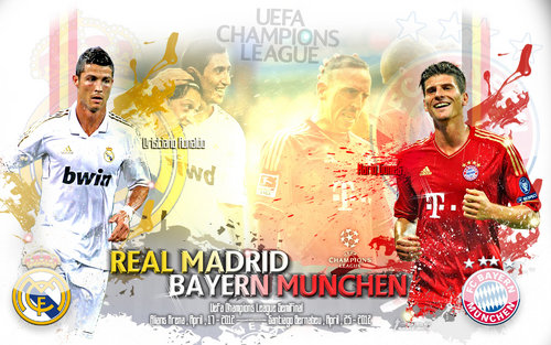 Real Madrid-Bayern Munich