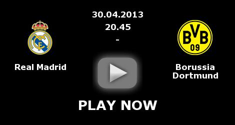 Real Madrid-Borussia Dortmund streaming