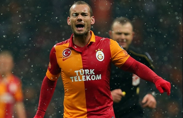 Vidéo but Sneijder Galatasaray-Real Madrid