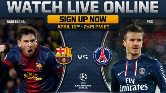 BArça - PSG Live streaming