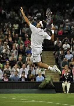 Roger à Wimbledon