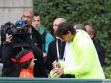 Photo : Nadal avec « Little Rafa »