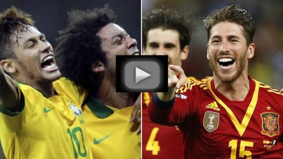 Résultat Brésil Espagne Coupe des Confédérations 2013