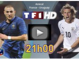 Uruguay-France en live streaming (5 juin)