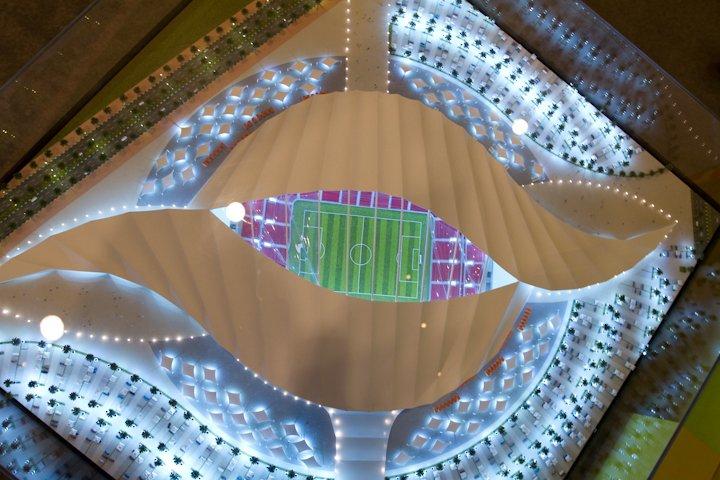 Al khawr stade toit coupe du monde 2018 football fifa russie - Stade coupe du monde 2022 ...