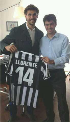 Llorente Juventus Turin