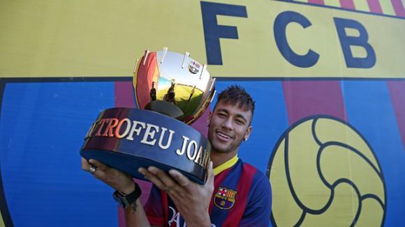 Vidéo buts FC Barcelone 8-0 Santos Trophée Joan Gamper