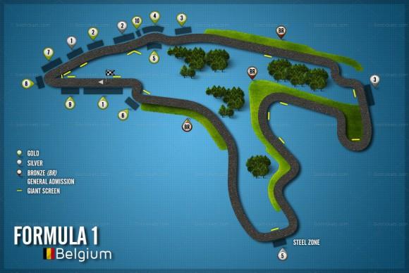 Grand Prix de Belgique 25 août 2013