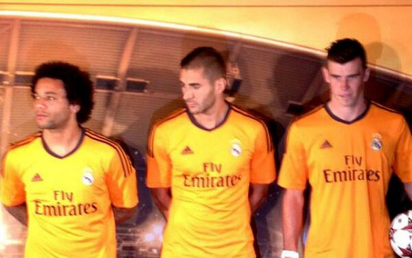 maillot du Real Madrid