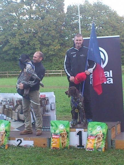 Championnats d'Europe de Canicross-Canivtt- Les Français ont tout donné