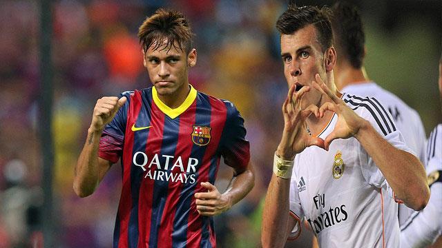 Neymar vs gareth Bale