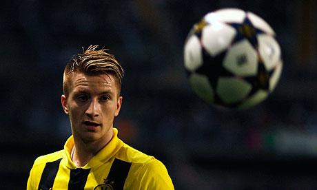 Vidéo but Reus Borussia Dortmund OM
