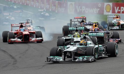Calendrier F1 2014