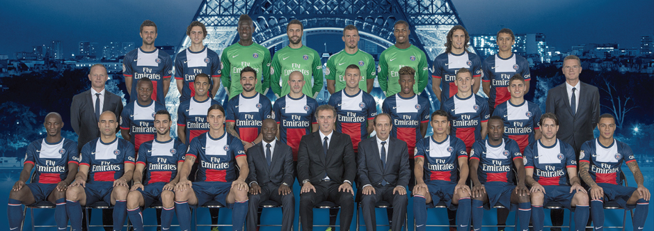 psg photo officielle 2013 2014 coupe du monde 2018 football fifa russie. Black Bedroom Furniture Sets. Home Design Ideas