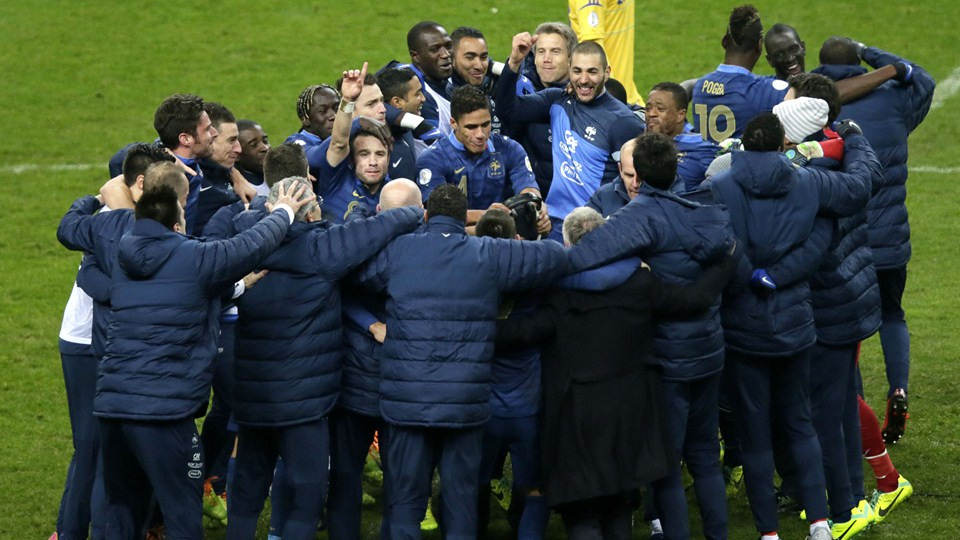 Photo france qualification coupe du monde 2014 joie - Classement equipe de france coupe du monde 2014 ...