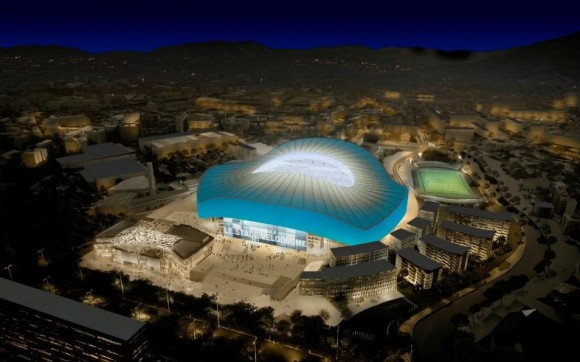 Stade Vélodrome pour l'OM et l'Euro 2016