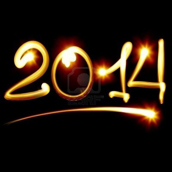 Bonne année Voeux 2014