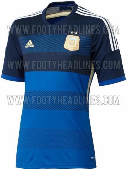 photo maillot ext 233 rieur de l argentine coupe du monde 2014 adidas