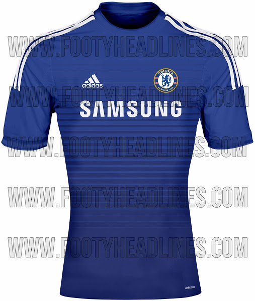 Maillots Chelsea 2014 2015
