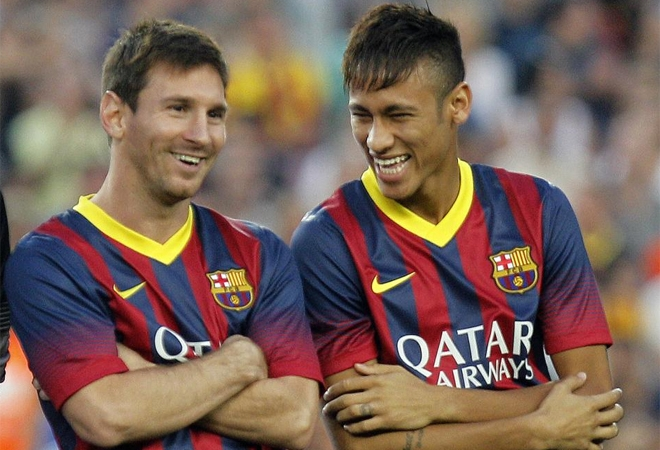Messi et nEYMAR