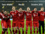 Photo : Les records du Bayern Munich