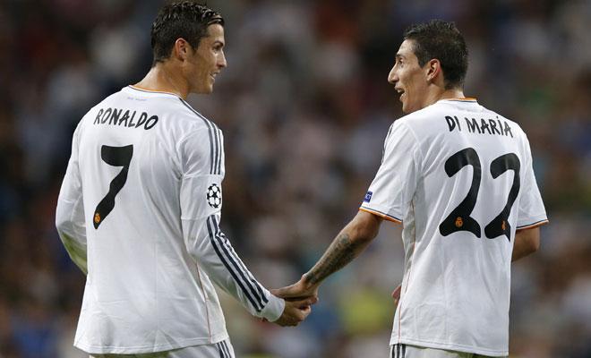 Cristiano Ronaldo di Maria