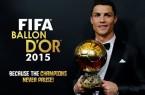 Cristiano Ronaldo le FIFA Ballon d'or 2015 ?