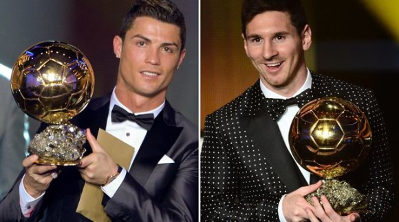 Messi vs. Ronaldo Ballon d'or 2015