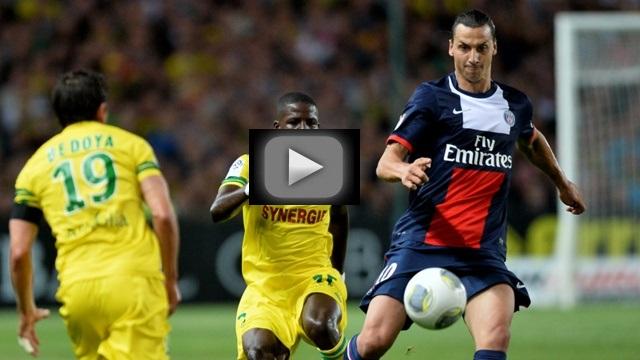 PSG Nantes streaming