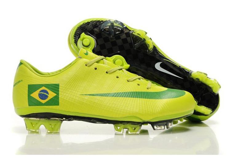 Foot Vert Chaussure Le De Football Jaune Couleur Sports Brésil K13FTcJl