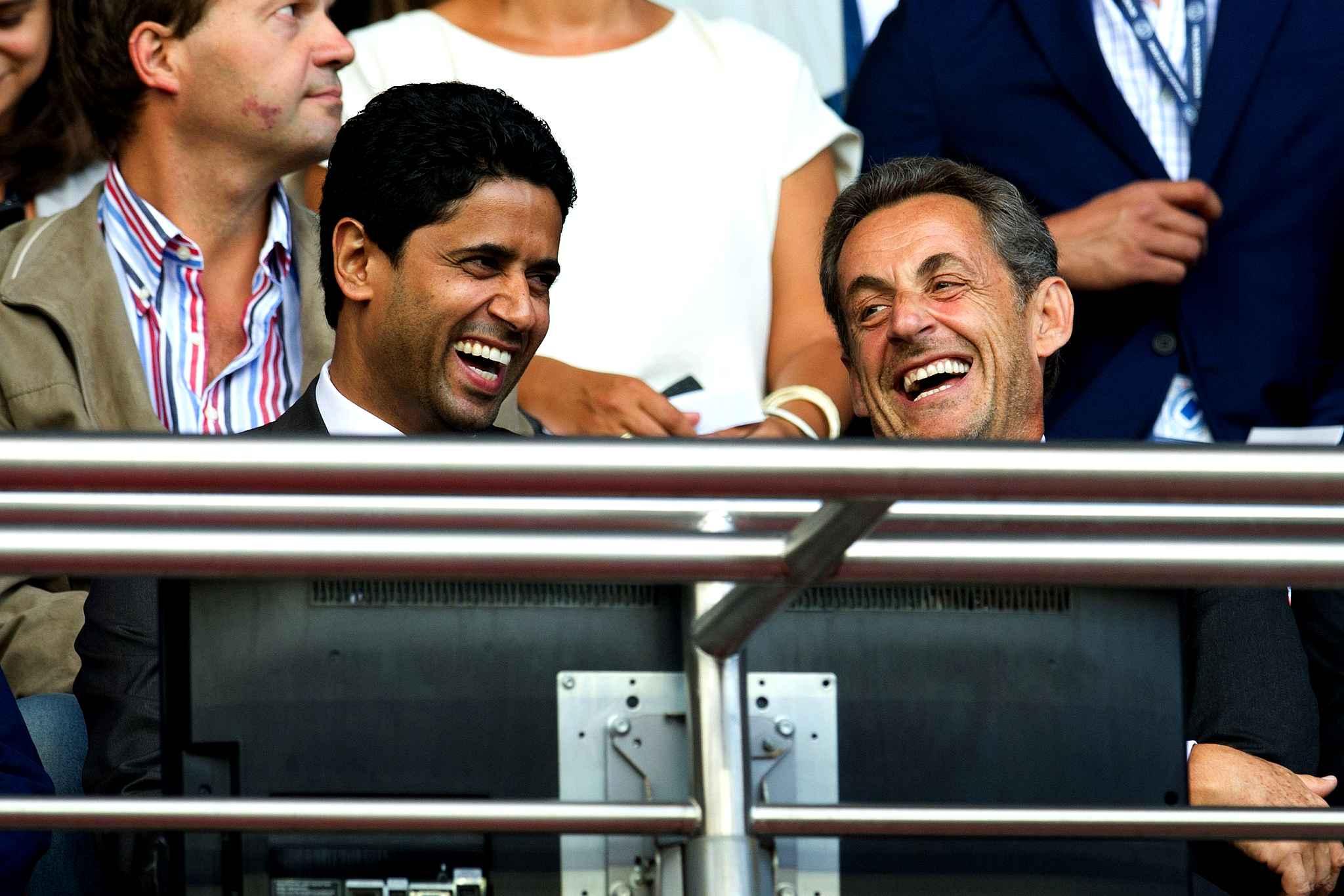 PSG nasser al khelaifi Nicolas Sarkosy