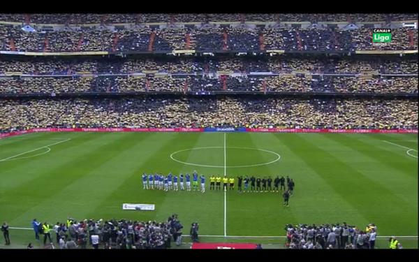 tifo Ballon d'Or Cristiano Ronaldo