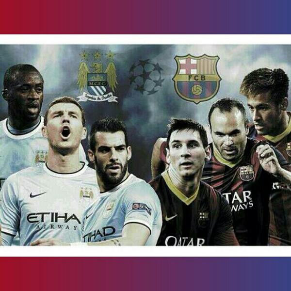 Manchester City-FC Barcelone