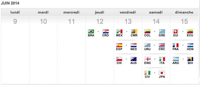 calendrier coupe du monde football 2014 pdf
